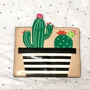 Kate Spade🌵 Cactus Card Holder Wallet